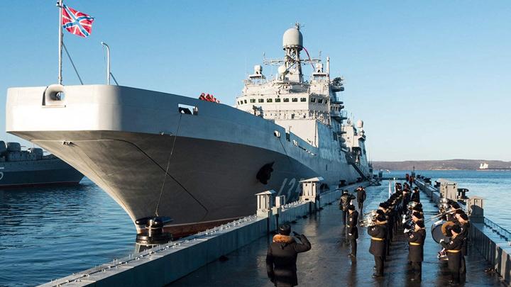 Русский флот прирастёт ещё двумя большими кораблями