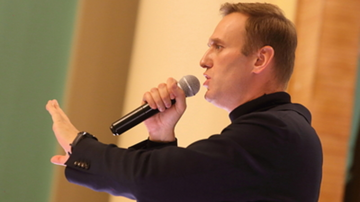 Алексея Навального выбила