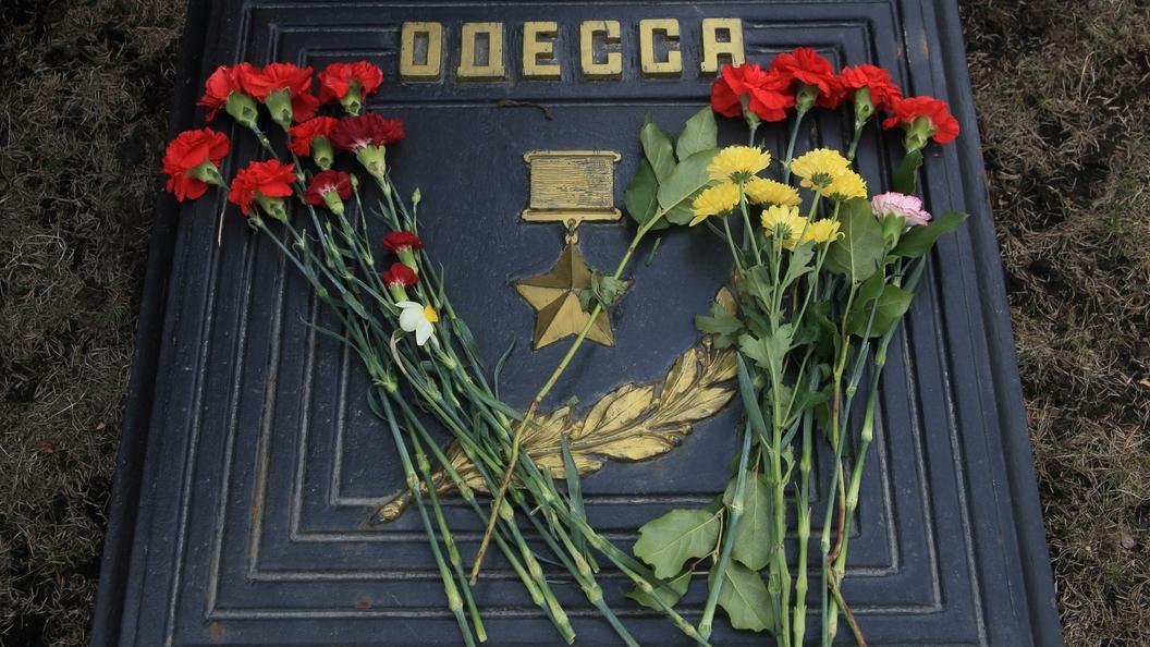 ВОдессе милиция  задержала участников акции 23февраля