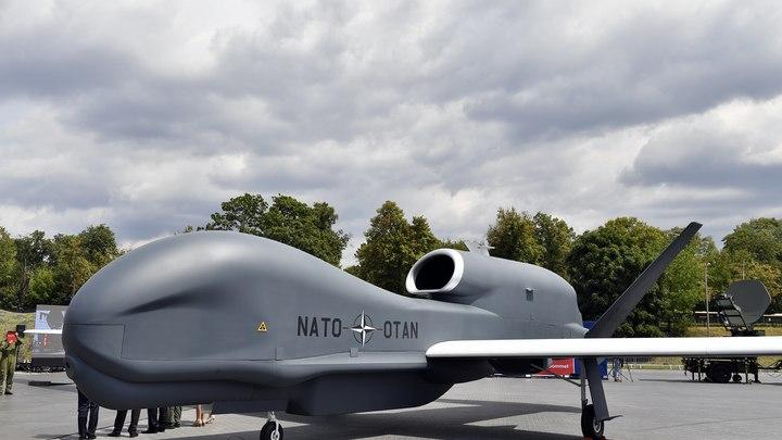 Американский стратегический беспилотник провёл разведку у русских  границ