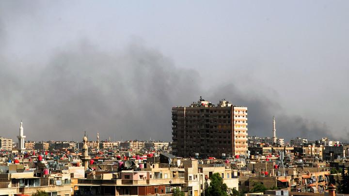 Минобороны: В результате обстрела в Сирии погибли российские военные
