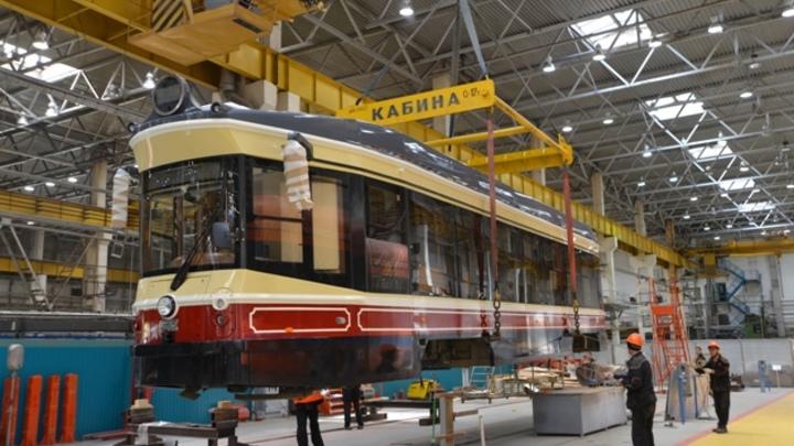 Первый ретро-трамвай отправлен производителем в Нижний Новгород