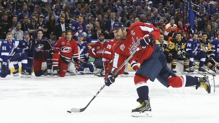 Российский форвард Александр Овечкин вошёл в топ-10 самых результативных игроков НХЛ