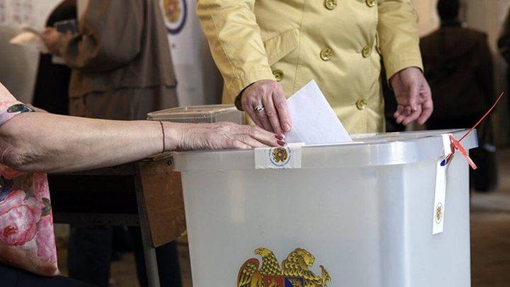 Выборы в парламент Армении 20 июня: онлайн-трансляция