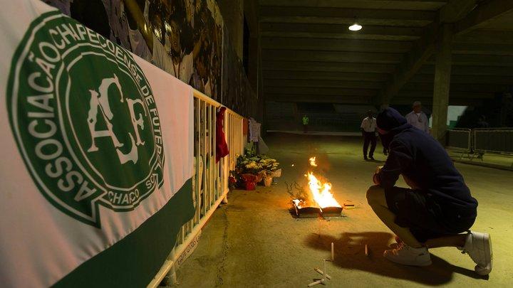 Стало известно, от чего бразильский футбольный клуб разбился почти в полном составе