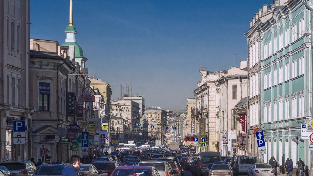 Собянин: Пропускная способность Сретенки не уменьшится