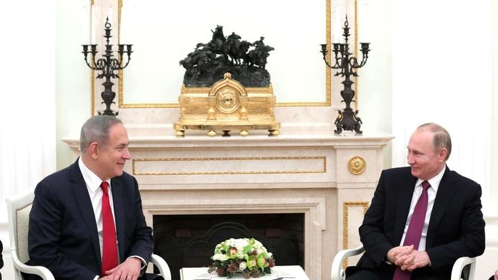 Официально: Путин и Нетаньяху встретятся в Сочи 23 августа