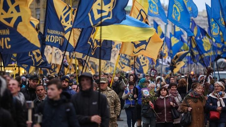 Как в Киеве отметили «день УПА»