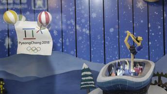 Символ Олимпиады-2018 вПхенчхане надел шапочку с цветами российского триколора