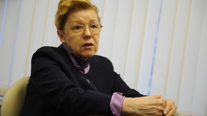 Елена Мизулина обратилась в Генпрокуратуру по факту распространения ложной информации
