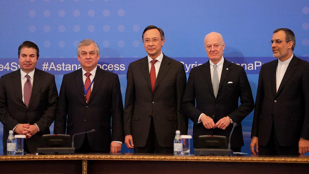Межсирийские переговоры в Астане: Посидели за одним столом и не разбежались