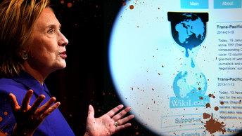 Кровавые отпечатки Хиллари Клинтон