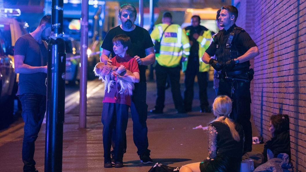 Теракт на Манчестер Арене: Детский след