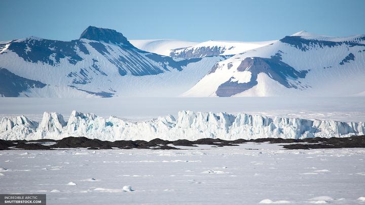 Ученые: В Антарктиде обнаружен НЛО, потерпевший крушение