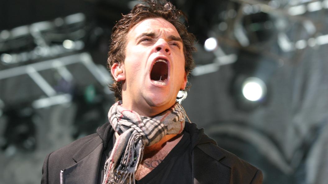 Robbie Williams продемонстрировал обложку нового альбома