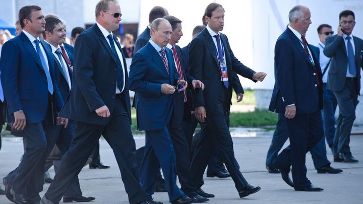 На МАКС Путин накормил делегацию вологодским пломбиром