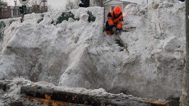 Здание автопарка под Костромой рухнуло после мощного снегопада