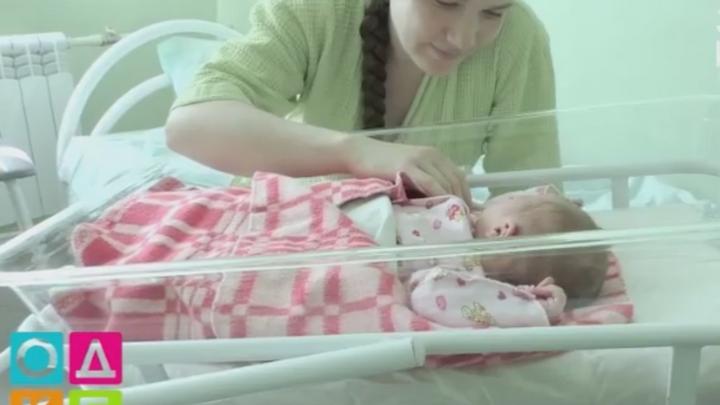 Настоящий богатырь: в Кузбассе родился ребенок весом 5,25 килограмма