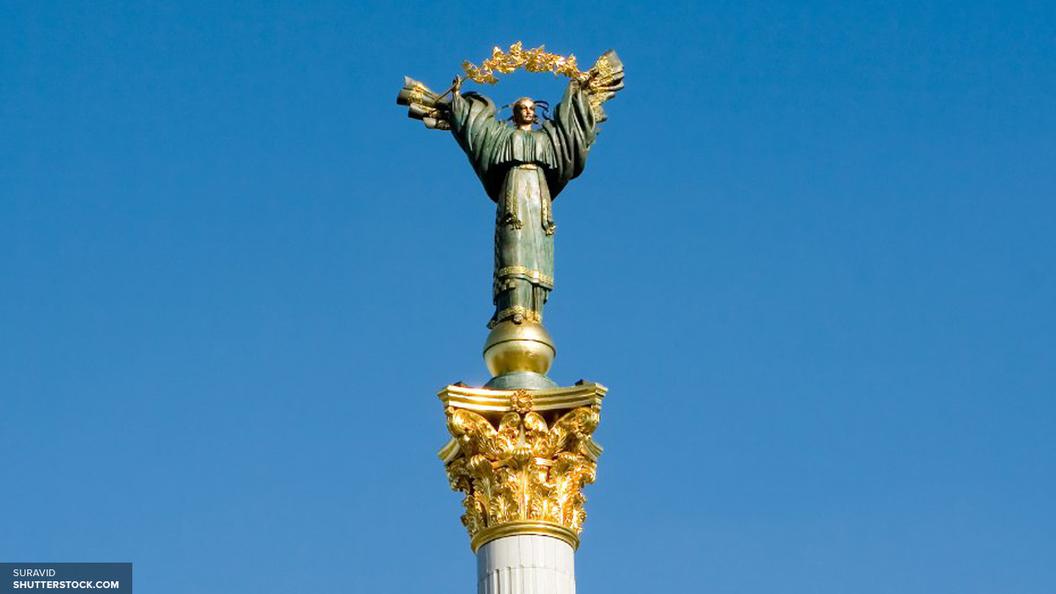 На Украине безработные попытались сдать памятник Неизвестному Офицеру на металлолом