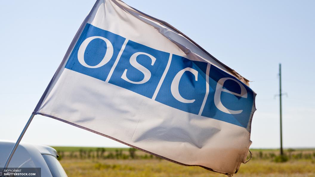 СМИ: Под Луганском на фугасе подорвался автомобиль с наблюдателями ОБСЕ