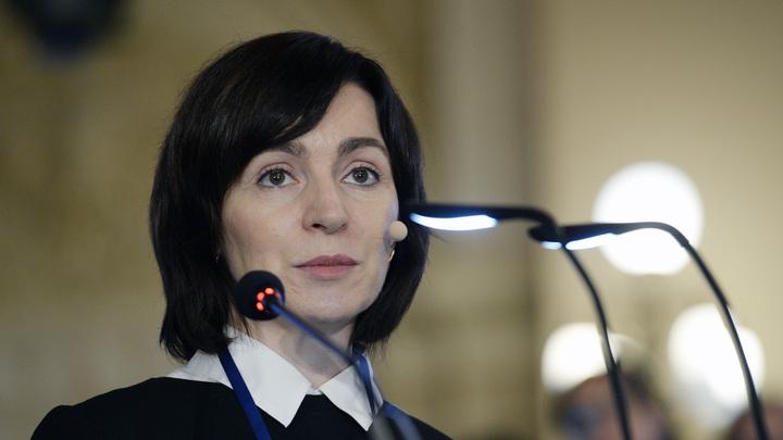 Майя Григорьевна, опомнитесь!: Санду задали неудобный вопрос об оружии в Приднестровье