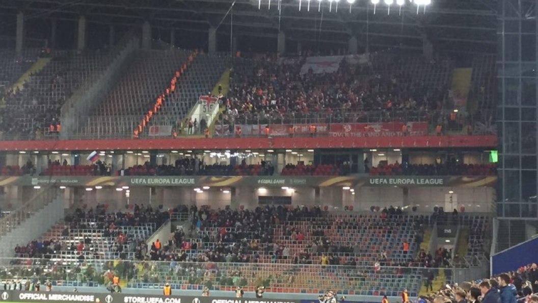 ЦСКА завершил выступление вЛиге Европы