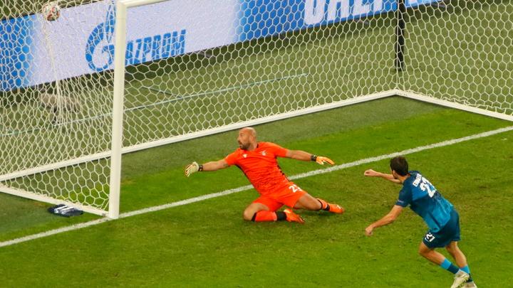 «Зенит» упустил победу в матче Лиги чемпионов