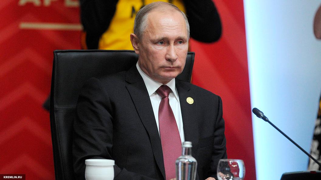 Путин поддержал Лаврова и Бортникова в вопросе введения санкций для террористов