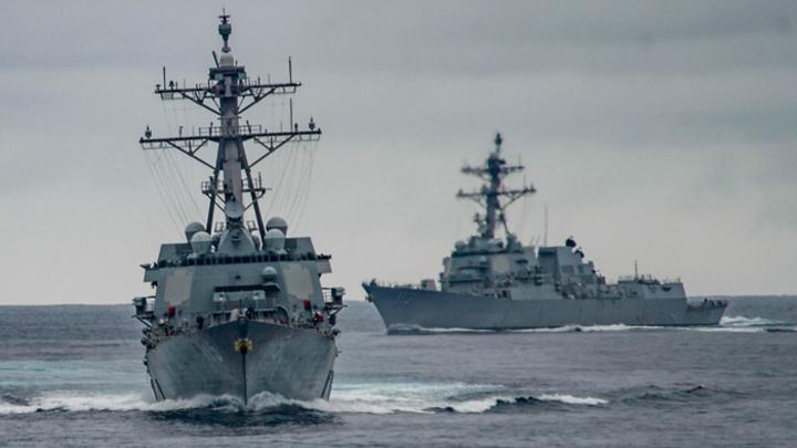 Новый бой тихой войны с США на море