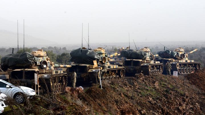 Генштаб ВС Турции заявил об окружении Африна