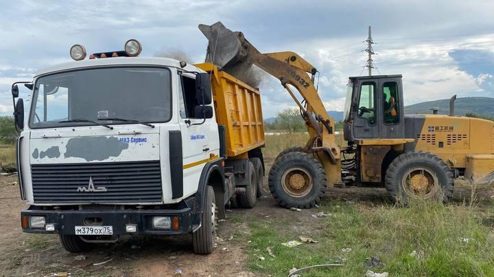 Власти Читы ликвидировали больше 150 несанкционированных свалок