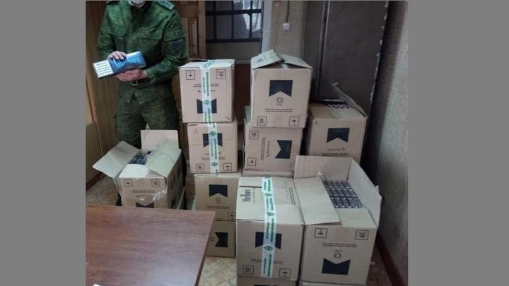 В Ростовской области пресекли ввоз контрабанды с Украины