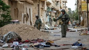 Военная полиция вошла в последний оплот боевиков — сирийский Аль-Рухеиб