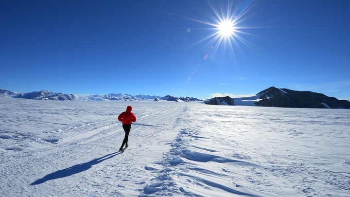 Рекордами сыт не будешь: Британский путешественник привез на Южный полюс сани с едой