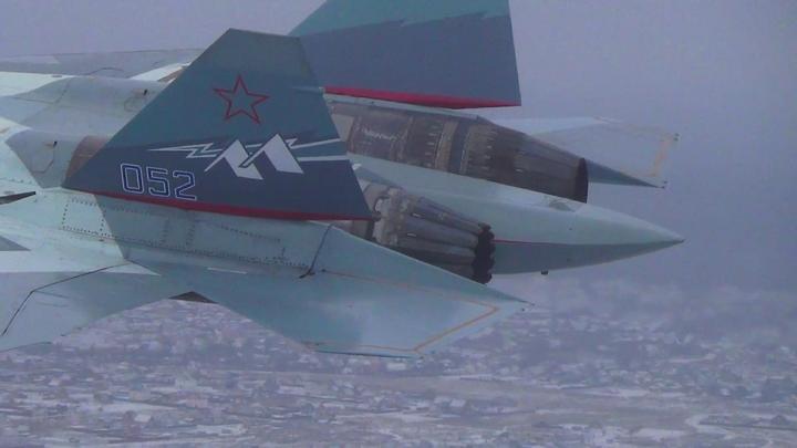 Пентагон негодует: Российский истребитель отпугнул самолет-разведчик США над Черным морем