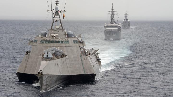 Потерявший стелс-ракету американский корабль больше не может грозить Китаю