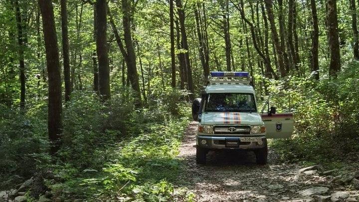 В горах Сочи заблудился турист
