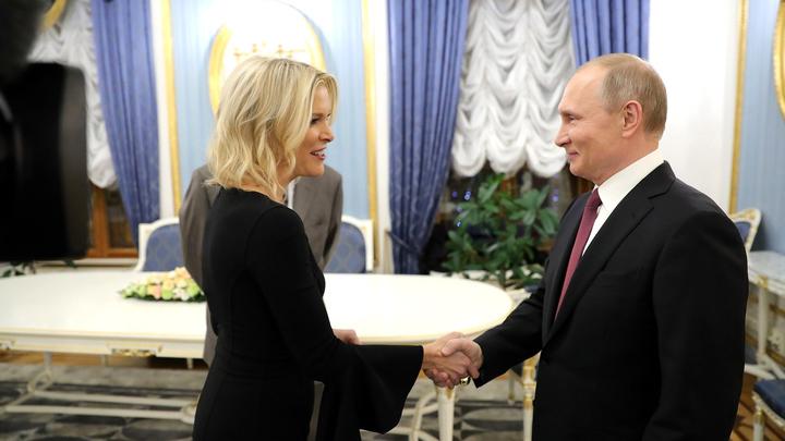 NBC уволил журналистку, бравшую интервью у Путина и Трампа