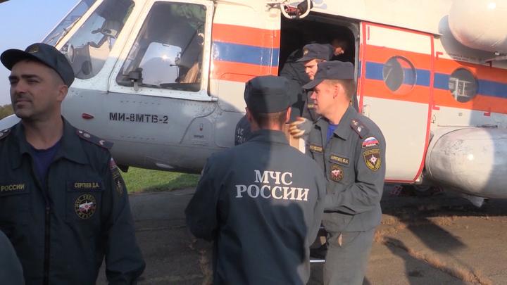 Крушение Ми-8 на Камчатке: Версии, нарушения, выжившие - онлайн-трансляция