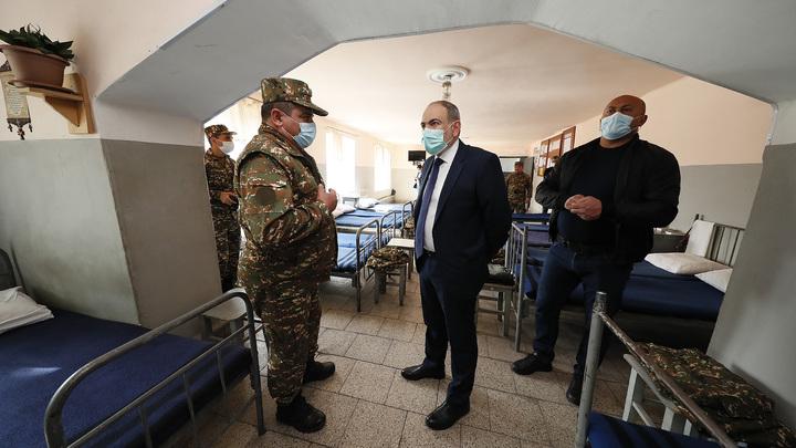Никол Пашинян отбыл из административного центра Сюникской области Капана