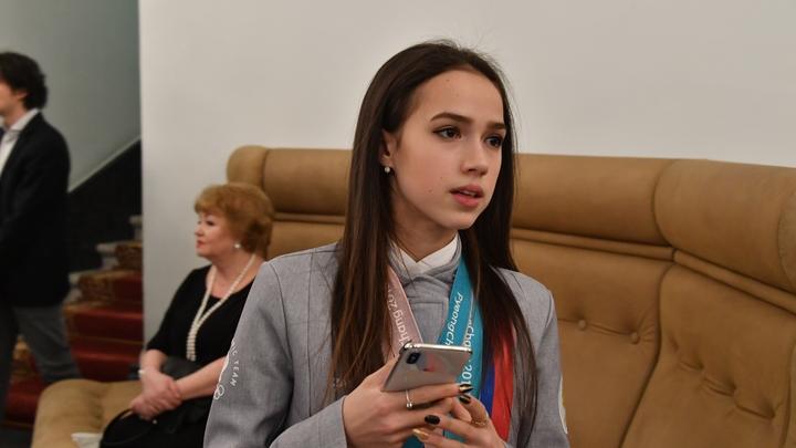 Спасибо, Владимир Владимирович: Загитова показала телеграмму от президента