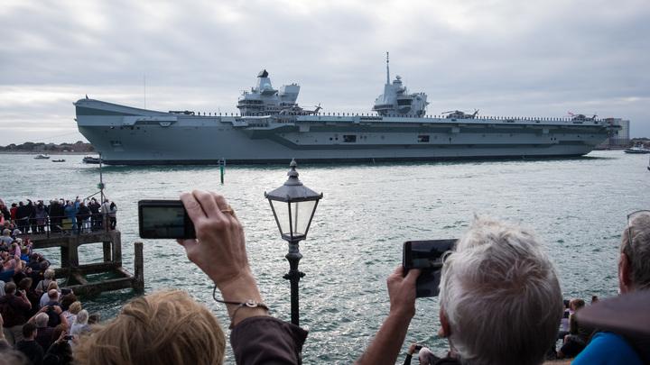 Британия заявила о возрождении своего морского владычества: F-35B сели на Queen Elizabeth