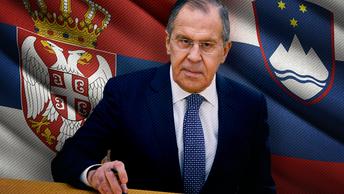 Лавров отправился на Балканы помогать сербам и словенцам