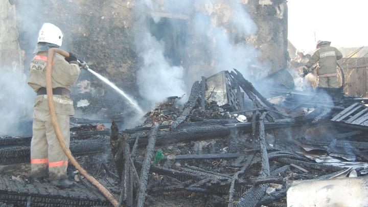 Два читинских пенсионера стали жертвами неосторожного обращения с огнем