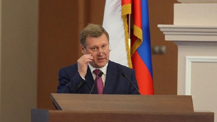 Анатолий Локоть поздравил жителей Новосибирска с Днём города