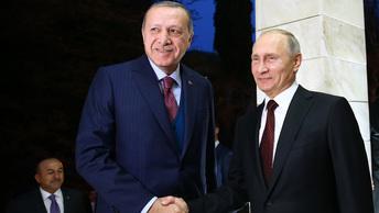 Эрдоган вместе с Путиным обсудили ситуацию с Иерусалимом