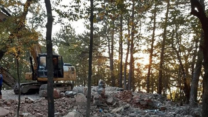 В кубанских лесах нашли и снесли 71 незаконную постройку