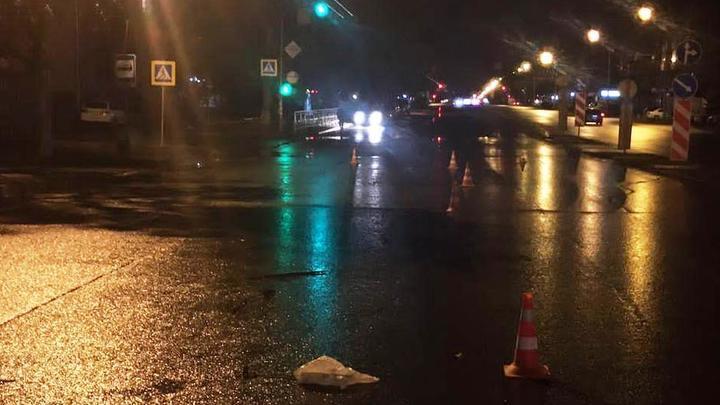 ГИБДД разыскивает водителя, сбившего пешехода на улице Станиславского в Новосибирске