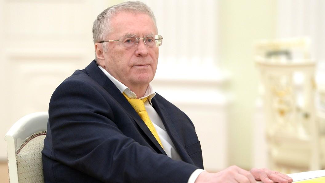 Жириновский назвал Москальковой размер собственной пенсии