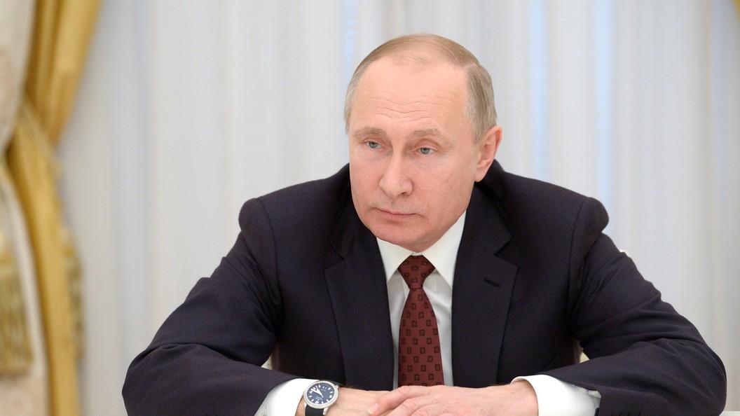 Путин: Российская Федерация не ожидает извинений от Англии поделу Скрипаля